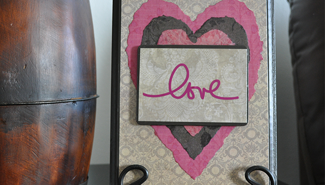Valentine Love Plaque Tutorial
