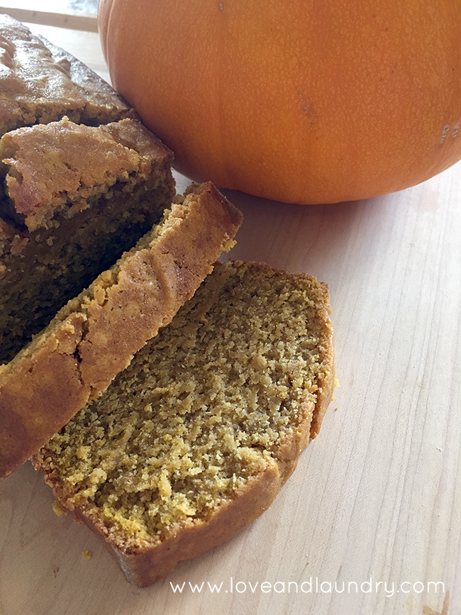 Easy Delicious Pumpkin Bread
