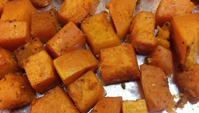 Roasted Vadouvan Butternut Squash